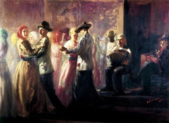 Baile na Roça - Candido Portinari