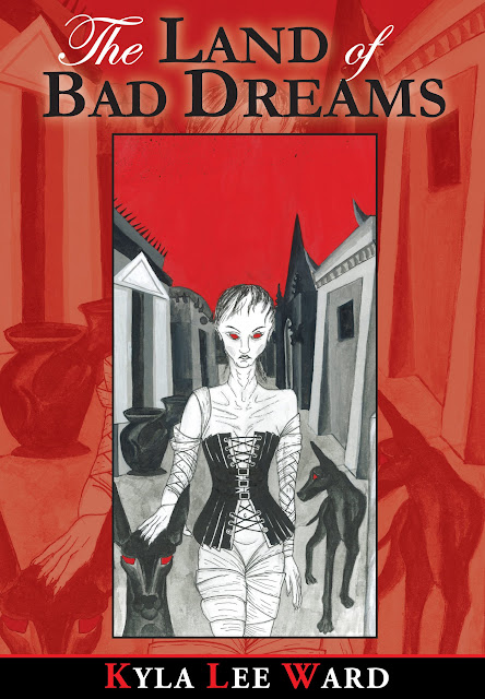 The Land of Bad Dreams cover, by Kyla Ward