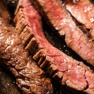 Easy Seared Flank Steak.