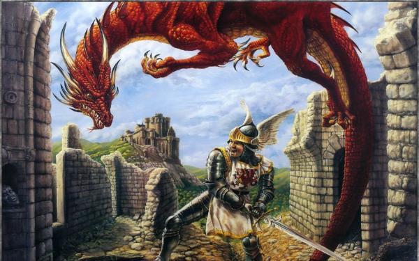 Drachen, Battle