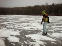 Zack trying some skating