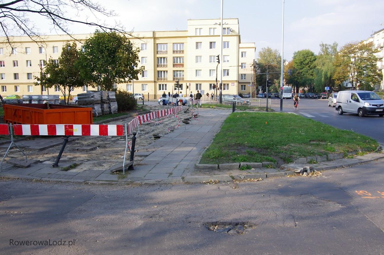 Na skrzyżowaniu Żeligowskiego i Zielonej