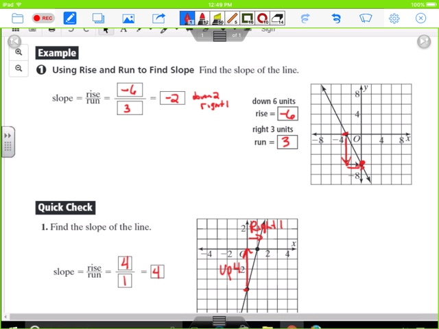 Mrs Cannefaxs Classes February 2017 – Rise over Run Worksheets