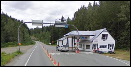 Canadian Border, near Haines Alaska