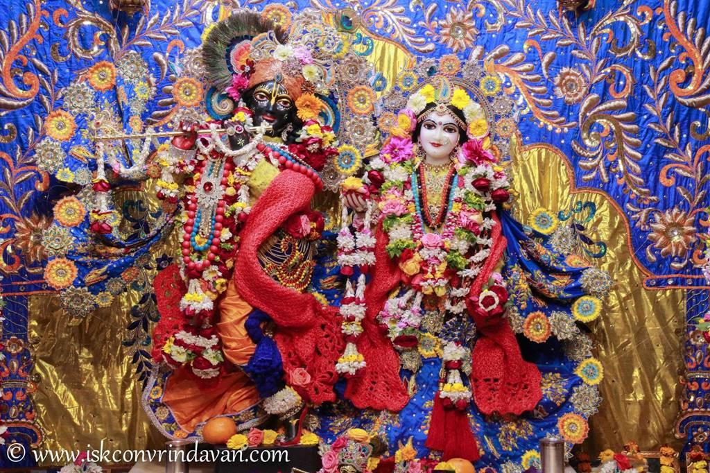 ISKCON Vrindavan Sringar Deity Darshan 03 Feb 2016 (13)