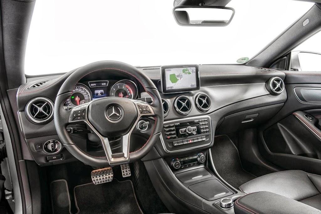Mercedes Benz CLA Sport 6