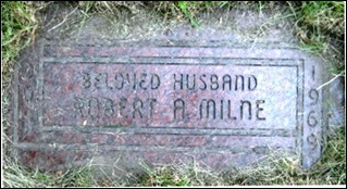 Copy of MILNE_Robert Andrew 1909-1969_headstone_WoodlawnCem_DetroitMich