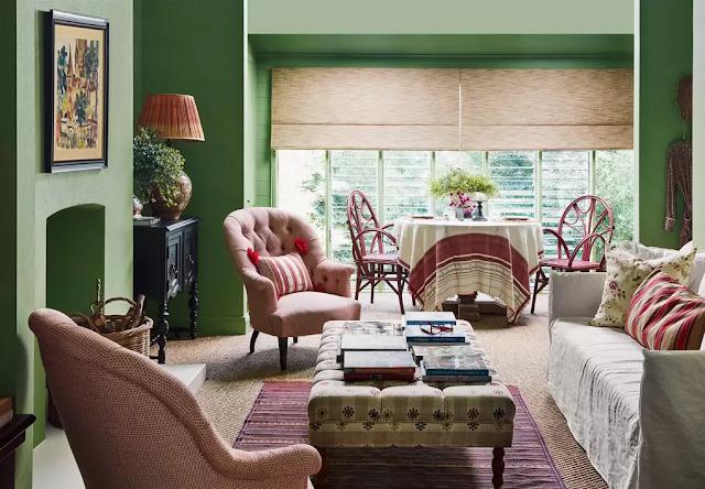 Sydney cottage living room