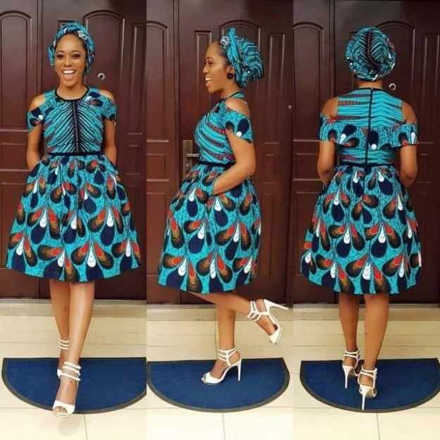 Latest Ankara Styles Dresses 2018 For Ladies 2