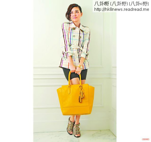 蒙嘉慧Classic Trench$4,350LegacyLeather Tanner黃色皮tote bag$5,950