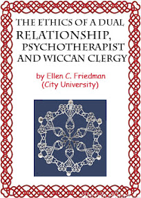 Cover of Ellen Friedman's Book The Ethics of a Dual Relationship Psychotherapist and Wiccan Clergy