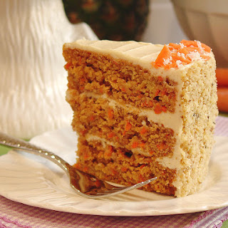 Paleo Carrot Cake with Cashew-Coconut Buttercream.