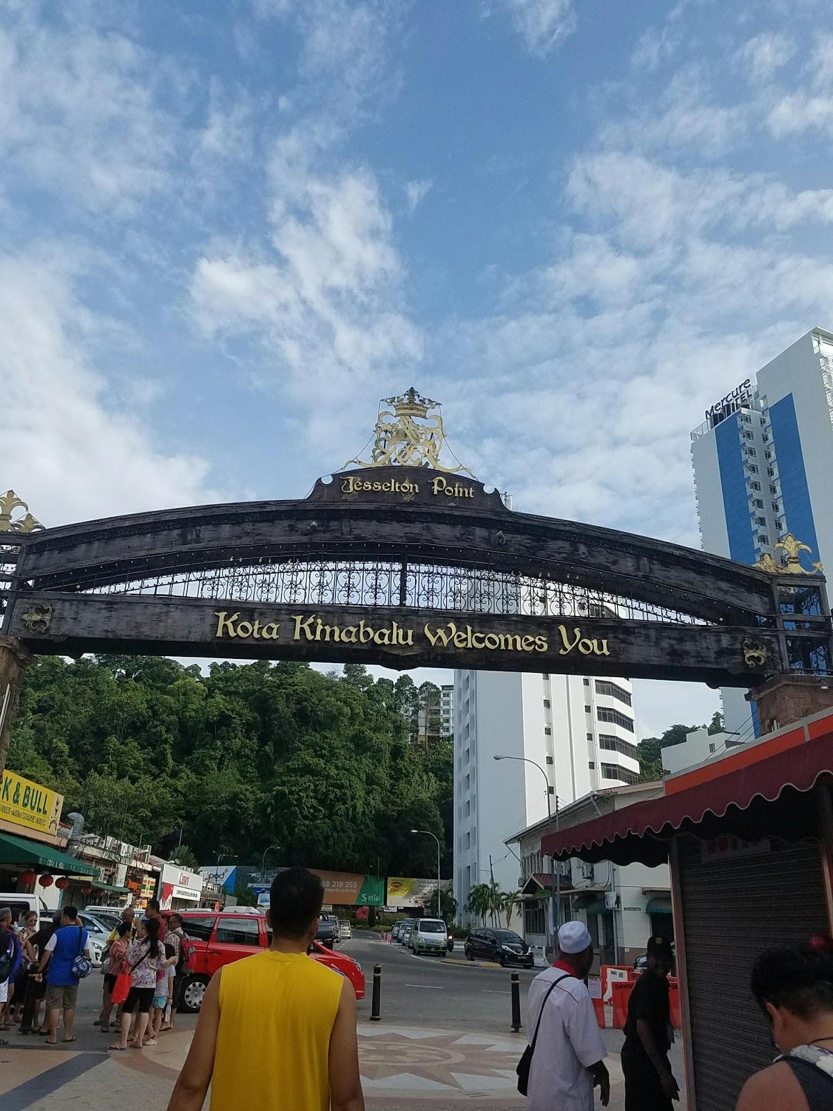 ferry terminal malaysia sabah borneo