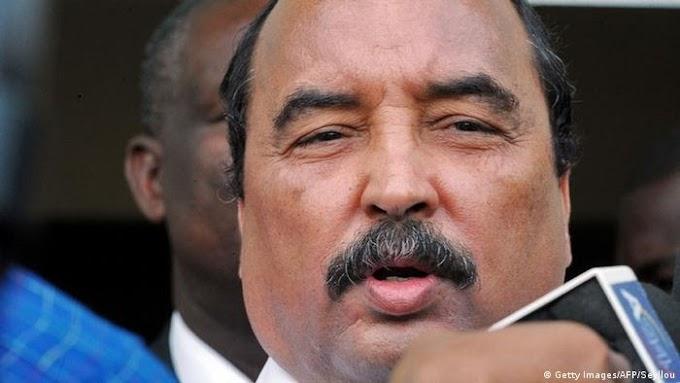 El expresidente mauritano Abdel Aziz, detenido según sus abogados.