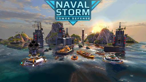 Naval Storm TD APK MOD DINHEIRO INFINITO