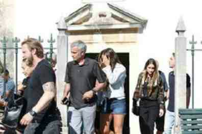 Jose Mourinho In Portugal For Father's Funeral