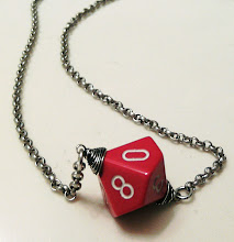 Photo: Far Realm Red D10 Necklace