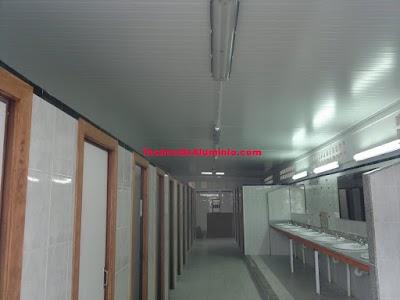 Precio techos de aluminio para cocinas Madrid