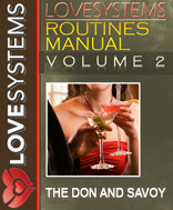 Cover of Love Systems's Book Love Systems Routines Manual Vol Ii