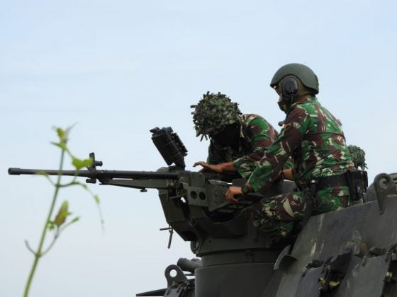 TNI AD Gelar Latihan Bersama dengan Angkatan Darat Amerika Serikat