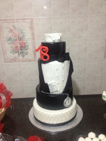 Torta 18 Anni Smoking