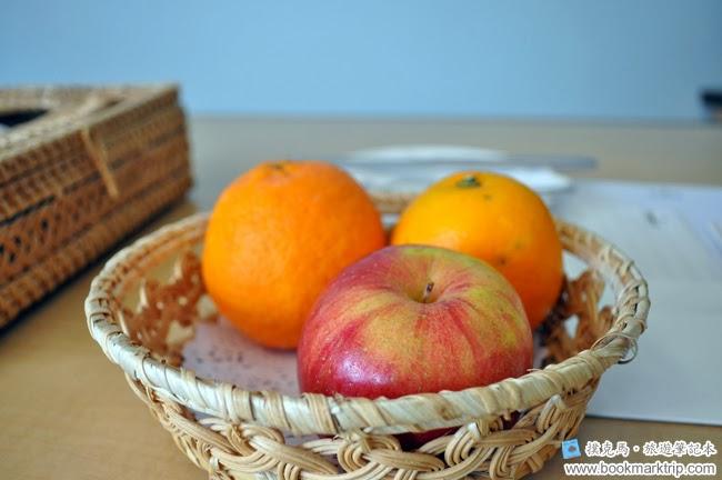 墾丁福華渡假飯店招待水果