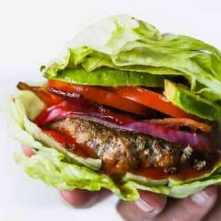 Easy Low-carb Bunless Burgers.