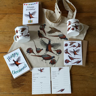 Pheasants galore by Alice Draws The Line