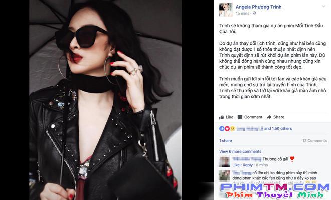 Angela Phương Trinh bất ngờ tuyên bố rút lui khỏi phim She was pretty bản Việt - Ảnh 2.