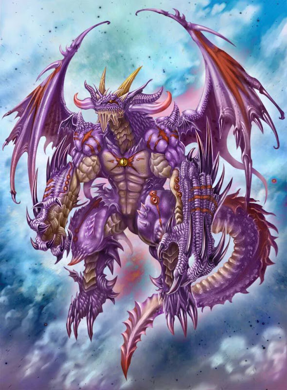 Dark Dragon, Dragons