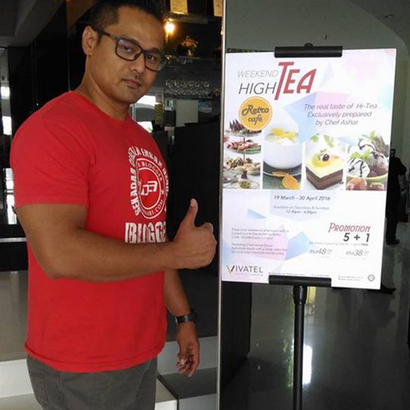 Hi-Tea @ VIVATEL Kuala Lumpur