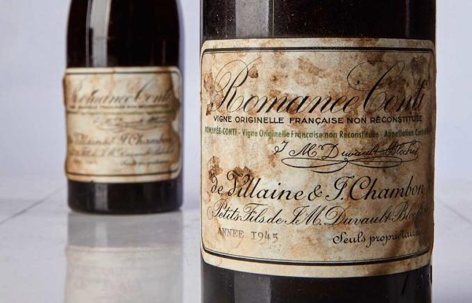 Romanée-Conti 1945 o vinho mais caro do mundo