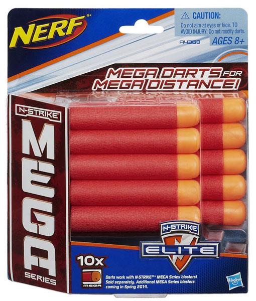 Vỉ đạn đỏ 10 viên cho súng đồ chơi Nerf