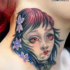 neck wonderful - Dolls Tattoos Pictures