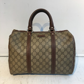 Gucci Monogrammed Bowling Bag