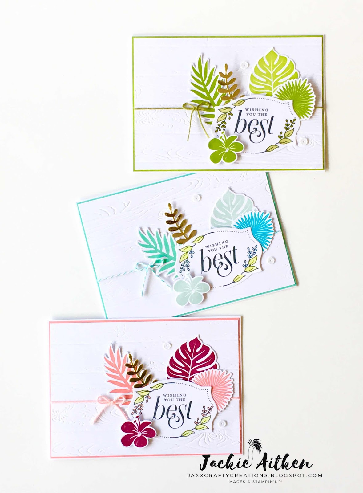 stampin up, tropical chic, floral frames