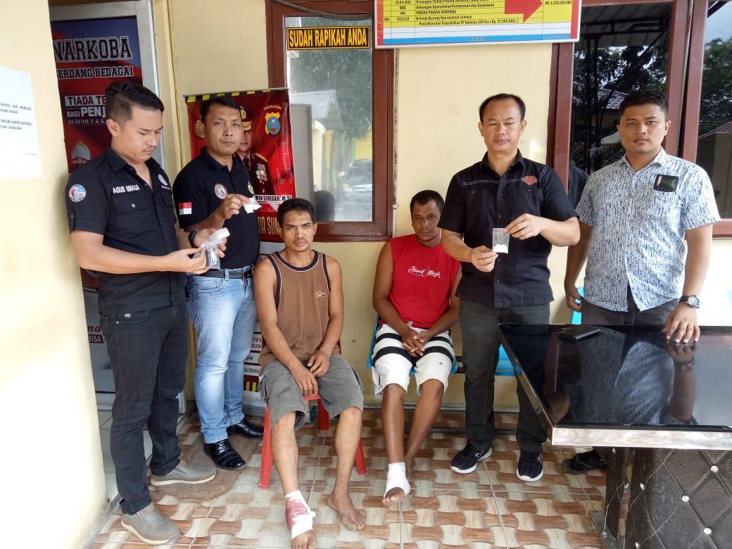 Melawan Petugas, Dua Pengedar Sabu Ditembak Polres Sergai