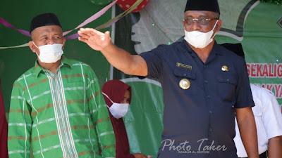 Samahuddin Bantu Ponpes Hidayatullah Buteng, 150 Juta Rupiah
