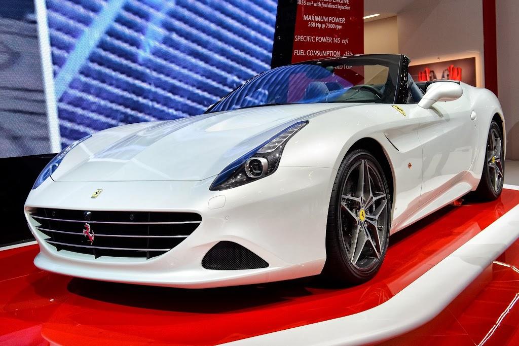 Ferrari California T Geneva Motor Show 6