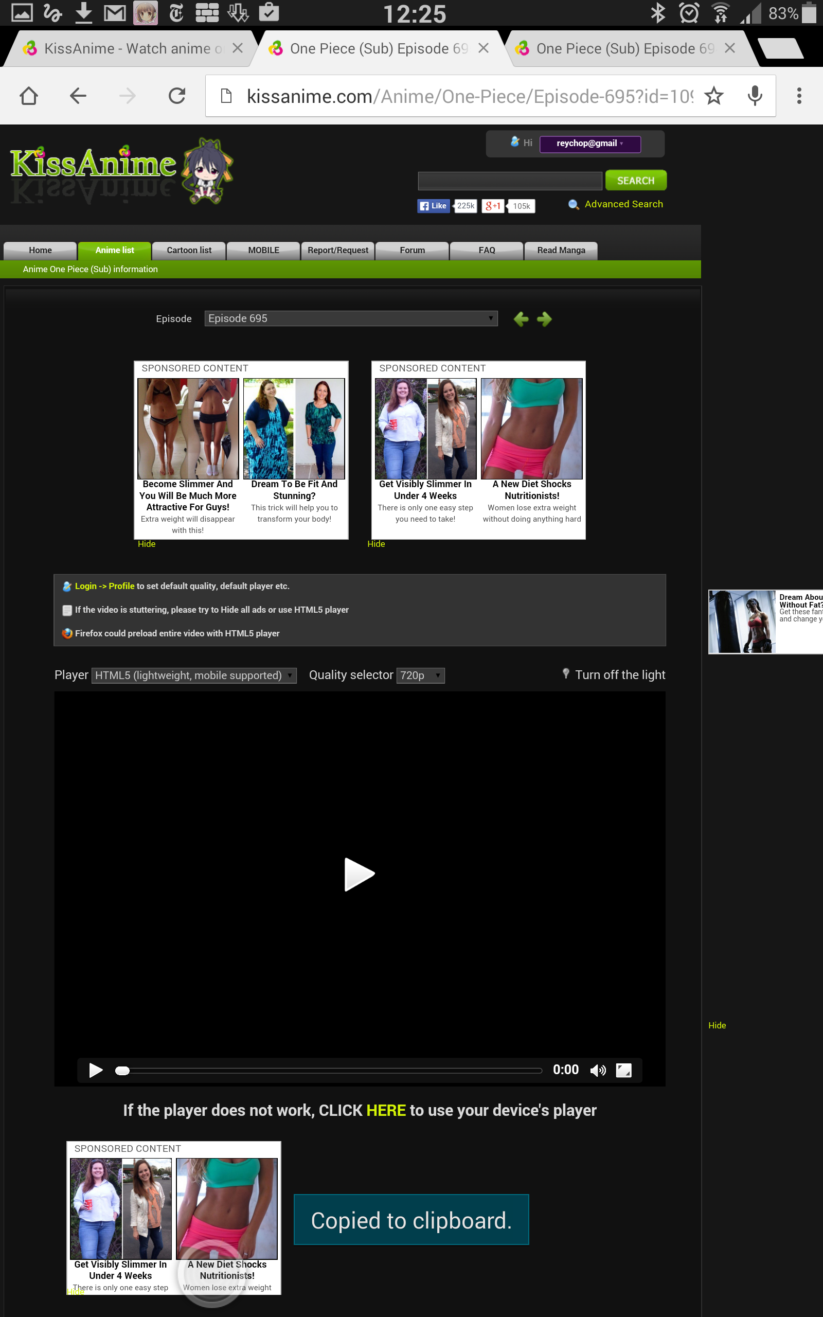 how to download video from kissanime on android