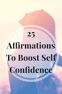 Affirmations are great for enforcing positive thinking and self empowerment. Check out my list of affirmations to boost self confidence.