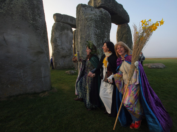 Druids Celebrate, Celtic And Druids