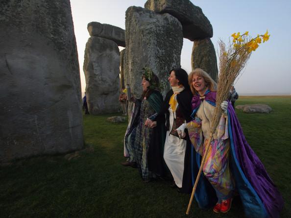 Druids Celebrate, Celtic And Druids