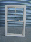 Traditional vertical sliding sash window for a listed building