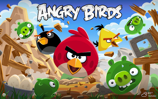 Angry Birds HD Wallpapers New Tab