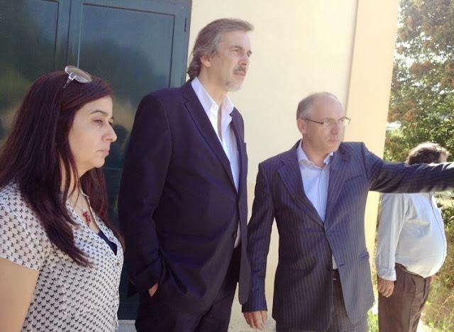 Secretário de Estado do Desporto e Juventude visita Centro Cultural e Recreativo de Ferreirim