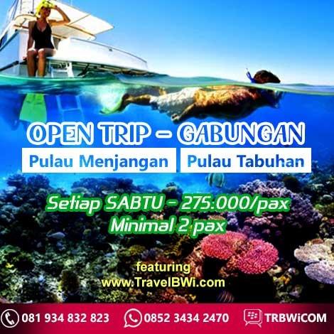 Open Trip Menjangan Tabuhan