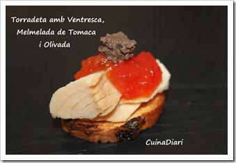 4-torradeta ventresca melmelada tomacaolivada