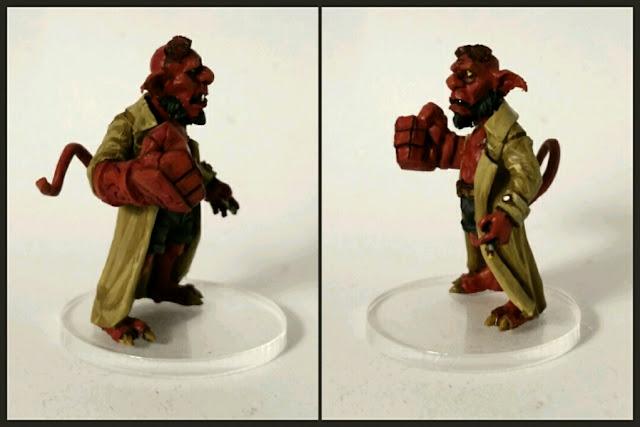 Goblin hellgob pintado por Xela