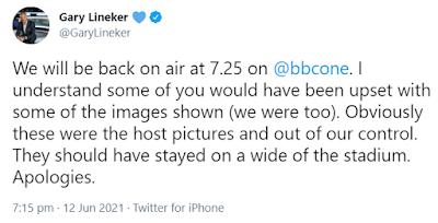Gary Lineker Tweet About Christian Ericksen